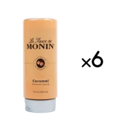 Monin Gourmet Caramel Sauce - 12 oz. Squeeze Bottle Case