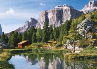 The Dolomites - 1500pc Jigsaw Puzzle by Ravensburger