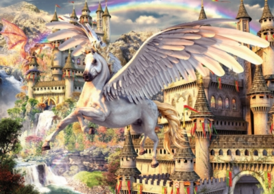 Pegasus - 1500pc Jigsaw Puzzle by Ravensburger