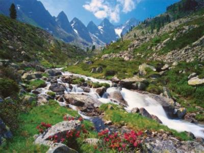 Austrian Mountains - 3000pc Ravensburger Jigsaw Puzzle by Ravensburger