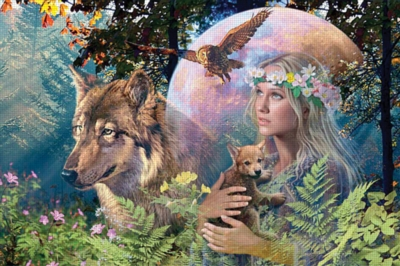 Lady of the Forest - 3000pc Jigsaw Puzzle by Ravensburger