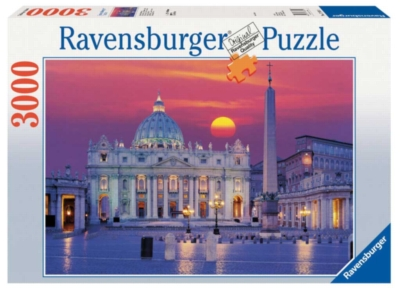 St. Peter's Cathedral, Rome - 3000pc Jigsaw Puzzle by Ravensburger