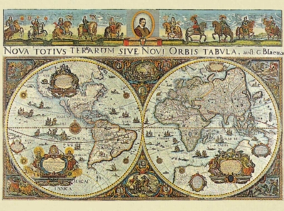 Ravensburger Jigsaw Puzzles - World Map 1665
