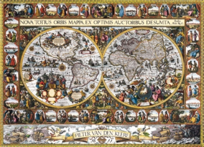 World Map 1611 - 9000pc Jigsaw Puzzle by Ravensburger