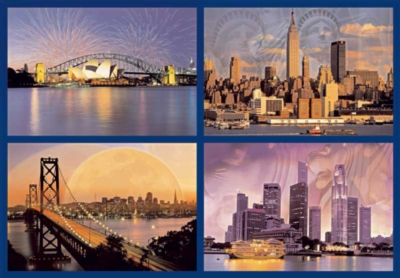 Skylines of the World - 18000pc Ravensburger Jigsaw Puzzle by Ravensburger