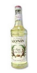 Monin Pure Cane Sugar Sweetener - 750 ml. Glass Bottle Case