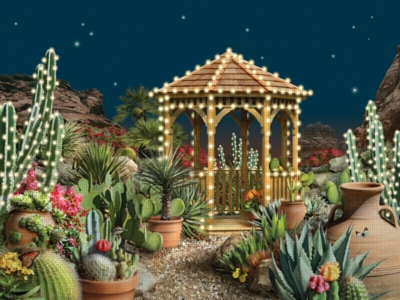 Holiday Oasis - 1000pc Jigsaw Puzzle by FX Schmid