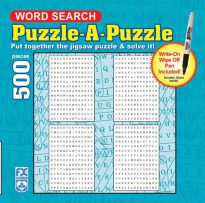 Word Search - 500pc Jigsaw Puzzle by FX Schmid