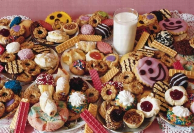 Care for a Cookie? - 250pc Jigsaw Puzzle by FX Schmid