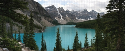 Lake Moraine Canada - 750pc Jigsaw Puzzle by FX Schmid