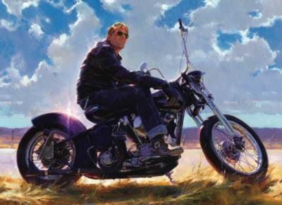 Harley-Davidson: Put Your Money on Gloss Black - 300pc Jigsaw Puzzle by FX Schmid