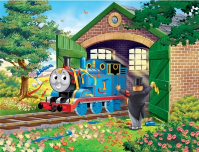 Thomas & Friends: Horray for Thomas - 35pc Ravensburger Puzzle in a Tin by Ravensburger