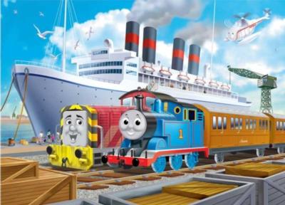 Thomas & Friends: Thomas and Salty at Bredam Docks - 35pc Ravensburger Puzzle in a Tin by Ravensburger