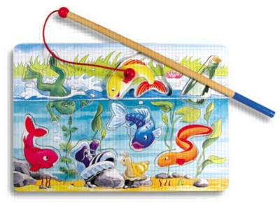 Magnetic Fishing - Wooden Puzzle by Ravensburger