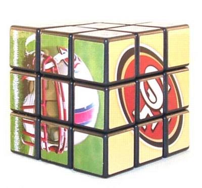San Francisco 49ers Rubiks Cube - Puzzle Cube