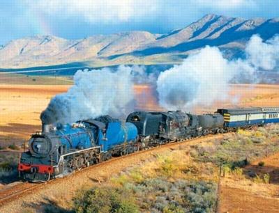 Train Trek - 500pc Jigsaw Puzzle by Springbok