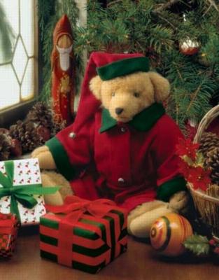 Merry Beary Christmas - 500pc Jigsaw Puzzle by Springbok
