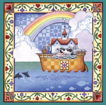 Jim Shore Rainbow Ark - 500pc Springbok Jigsaw Puzzle