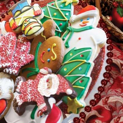 Christmas Cookies - 500pc Springbok Jigsaw Puzzle