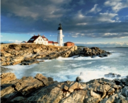 Springbok Jigsaw Puzzles - Portland Head Lighthouse