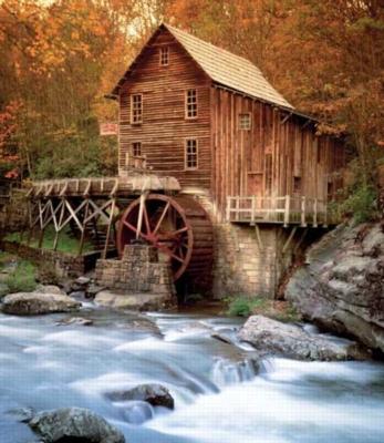 Glade Creek Mill - 1000pc Jigsaw Puzzle by Springbok