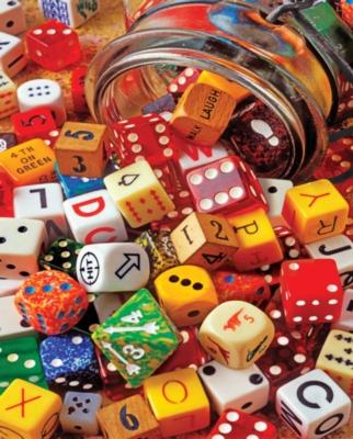 Springbok Jigsaw Puzzles - Lucky Roll