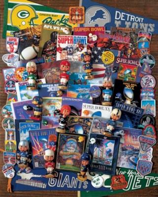 Springbok Jigsaw Puzzles - Football Fantasy