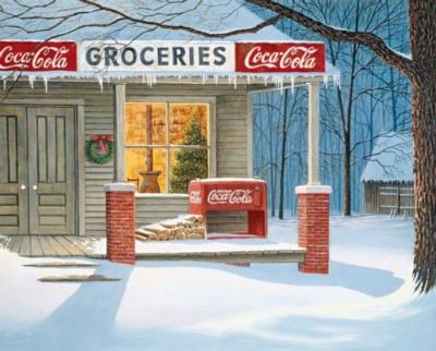 Coca-Cola Puzzles - The Corner Store