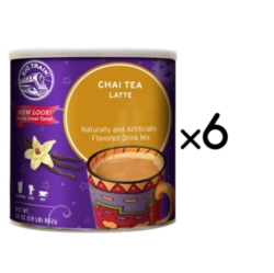 Big Train Chai Tea - 1.9 lb. Can Case