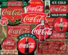 Coca-Cola: Classic Signs - 2000pc Springbok Jigsaw Puzzle