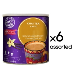 Big Train Chai Tea - 1.9 lb. Can Assorted Case