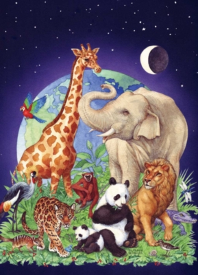 Springbok Jigsaw Puzzles - Jungle Party