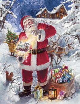 Christmas Magic - 350pc Large Format Springbok Jigsaw Puzzle