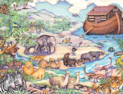 Noah's Ark - 400pc Jigsaw Puzzle by Springbok