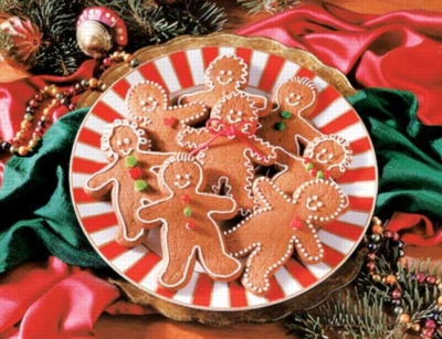 Gingerbread Goodies - 400pc Jigsaw Puzzle by Springbok