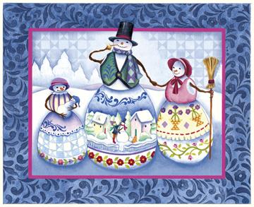 Season's Greetings - 400pc Family Style Springbok Jigsaw Puzzle
