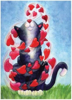 Kitty Love - 25pc Jigsaw Puzzle by Serendipity
