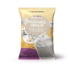 Big Train 20 Below White Chocolate - 3.5 lb. Bulk Bag Case