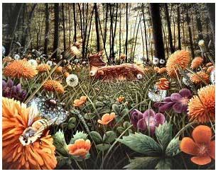 Magical Meadow - 125pc Jigsaw Puzzle by Serendipity