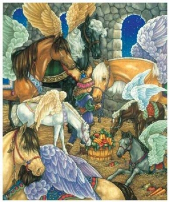 Horse Dreams - 125pc Jigsaw Puzzle by Serendipity