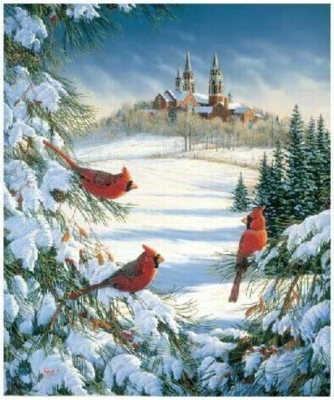 Winter Chatter - 150pc Jigsaw Puzzle by Serendipity