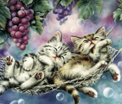 Cute As a Kitten - 150pc Jigsaw Puzzle by Serendipity