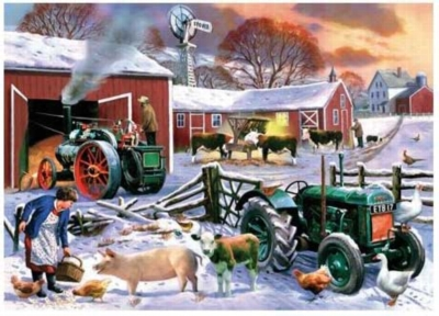 Winter Breakfast - 399pc Jigsaw Puzzle by Serendipity
