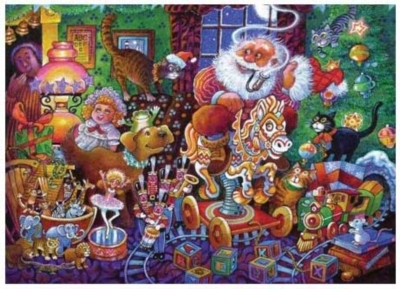 Christmas Eve - 399pc Jigsaw Puzzle by Serendipity