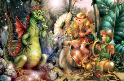 Enchanted Company - 399pc Jigsaw Puzzle by Serendipity