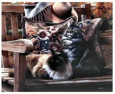 On The Lookout - 550pc Jigsaw Puzzle by Serendipity