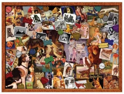 A Mans Best Friend - 550pc Jigsaw Puzzle by Serendipity