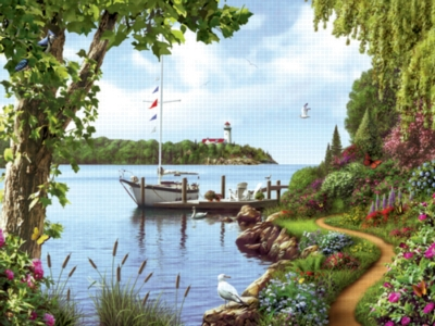 Down By The Water - 550pc Jigsaw Puzzle by Serendipity