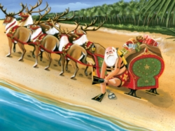 Serendipity Jigsaw Puzzles - Santa's On Vacation