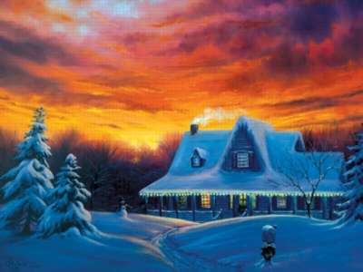 Serendipity Jigsaw Puzzles - Snowed In